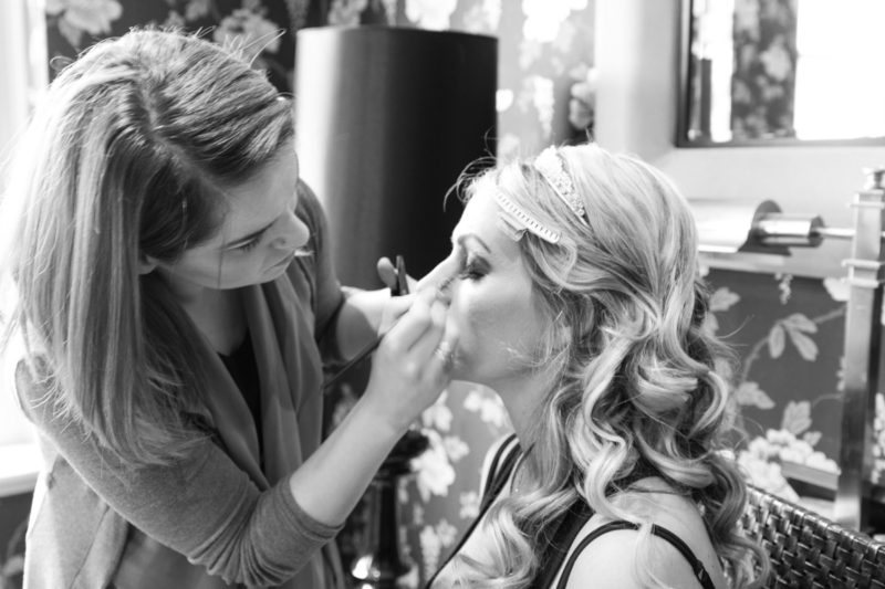 London Garden Wedding Bride Prep