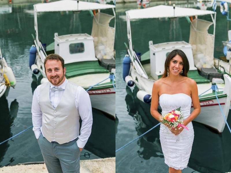 Maxeen Kim Photography, Ithaca Greece Wedding, Destination Wedding