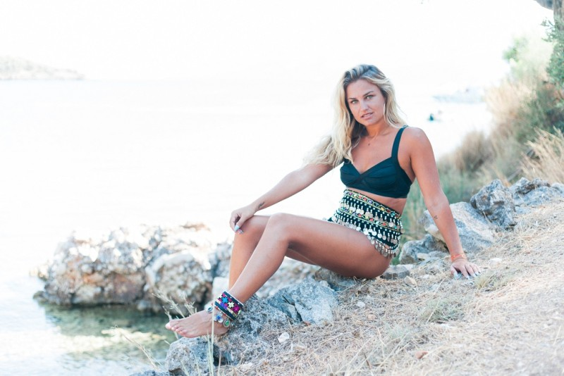 Maxeen Kim Photography, Ithaca, Nicole Lucus, Greece, Gypsy Girl, Polis Beach
