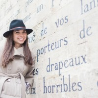 Portraits of Katie Donnelly in Paris by Maxeen Kim Photography