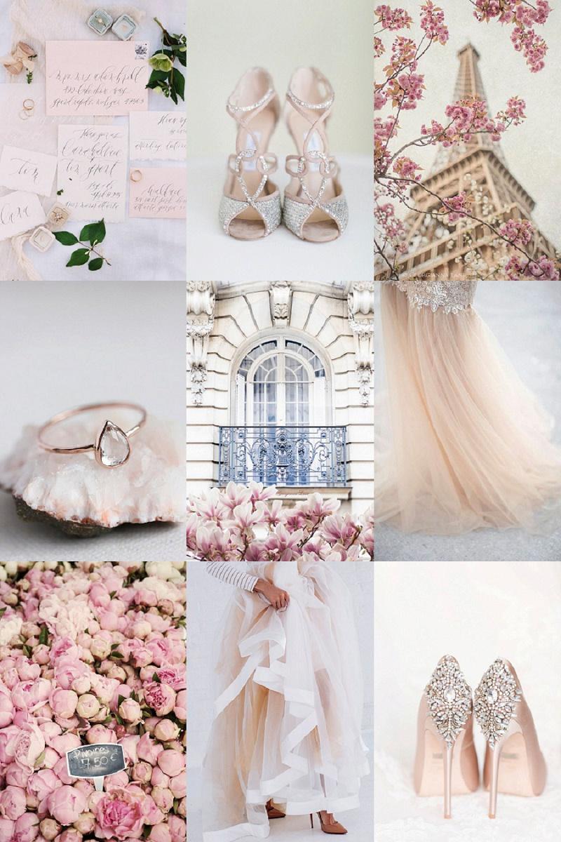 Pretty Pink Paris, Inspiration Board, Wedding Planning, Maxeen Kim Photography