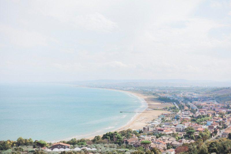 Vasto, Italy, beach, view, Travel