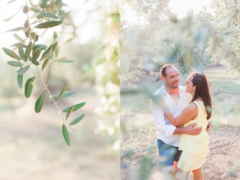 Italian Olive Grove Engagement in Chieuti