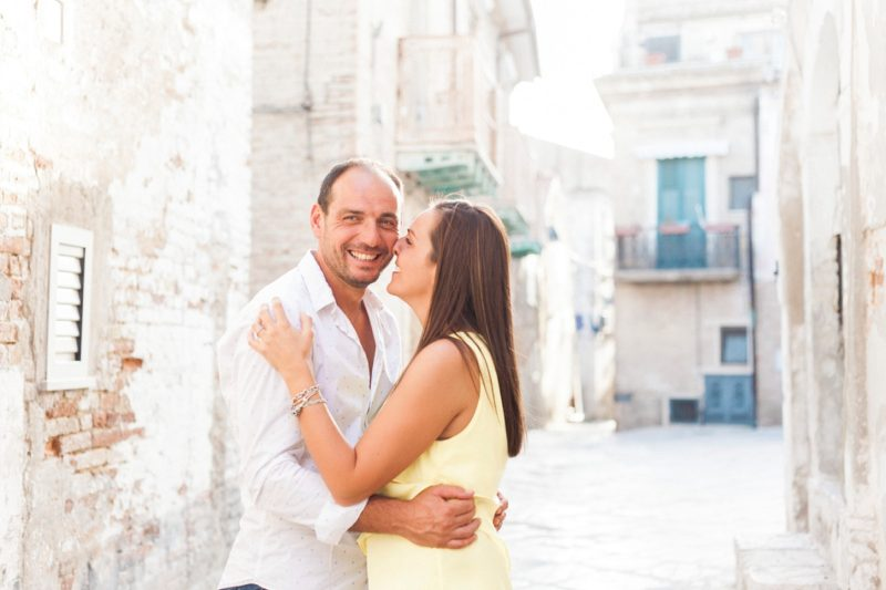 Engagement in Serracapriola Italy