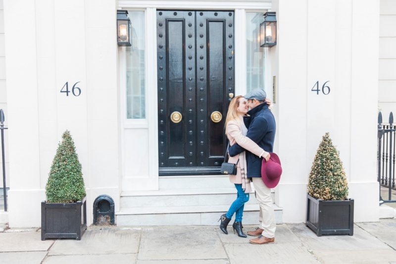 Romantic Belgravia Couple Shoot