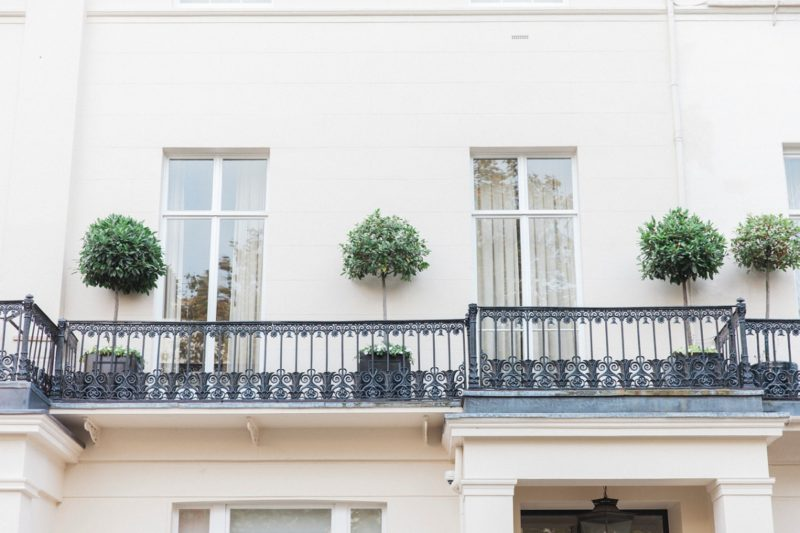 Beautiful houses in Belgravia