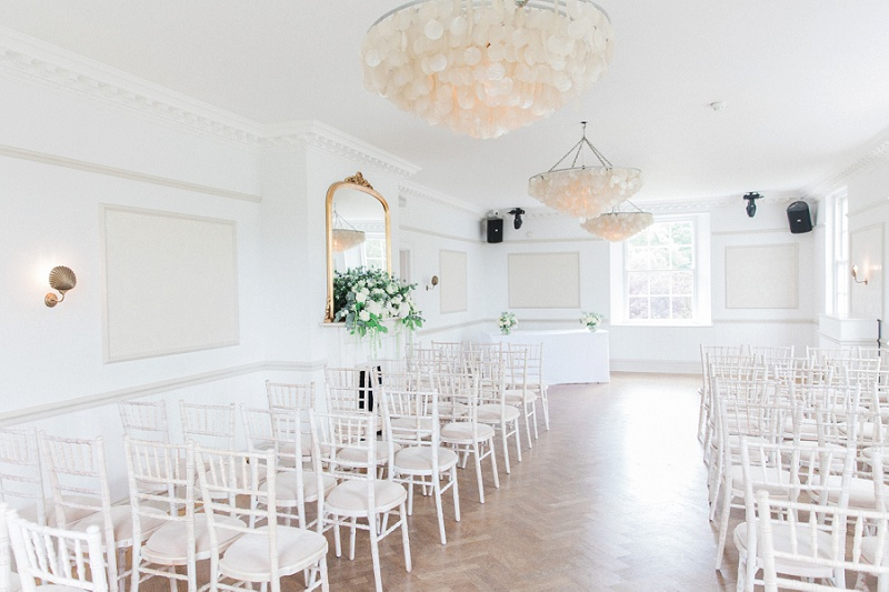 Bright Ceremony Room At Belair House