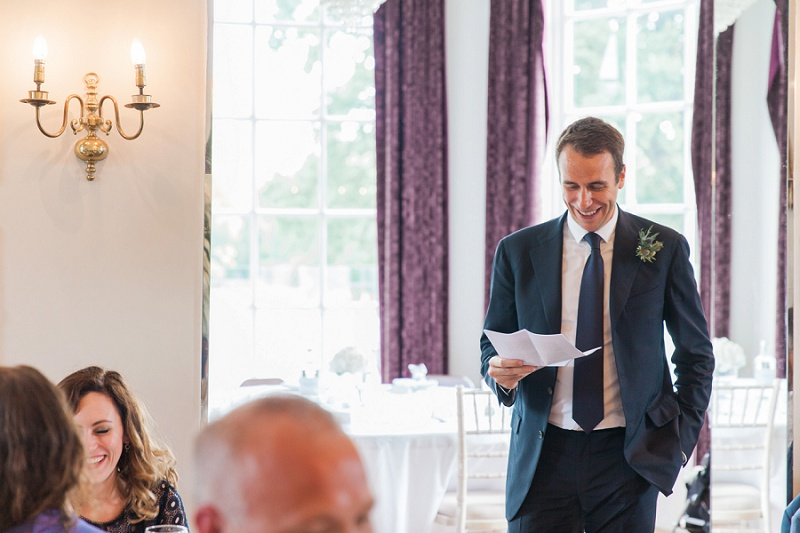 Best Man Speech At Belair House