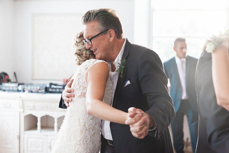 Emotional Moment between Father and Daughter During Their Dance
