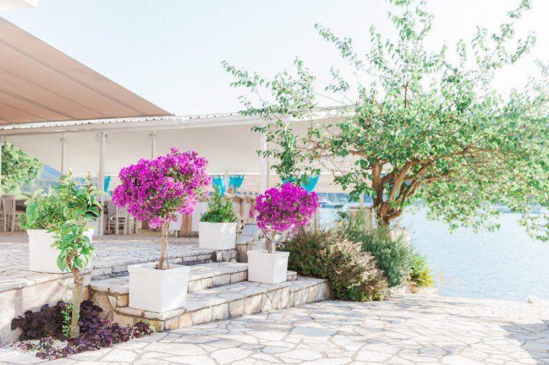 SeaSide Restaurant in Geni, Lefkada