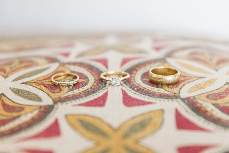 Rings on a Tribal Print at Lake Eland Game Reserve